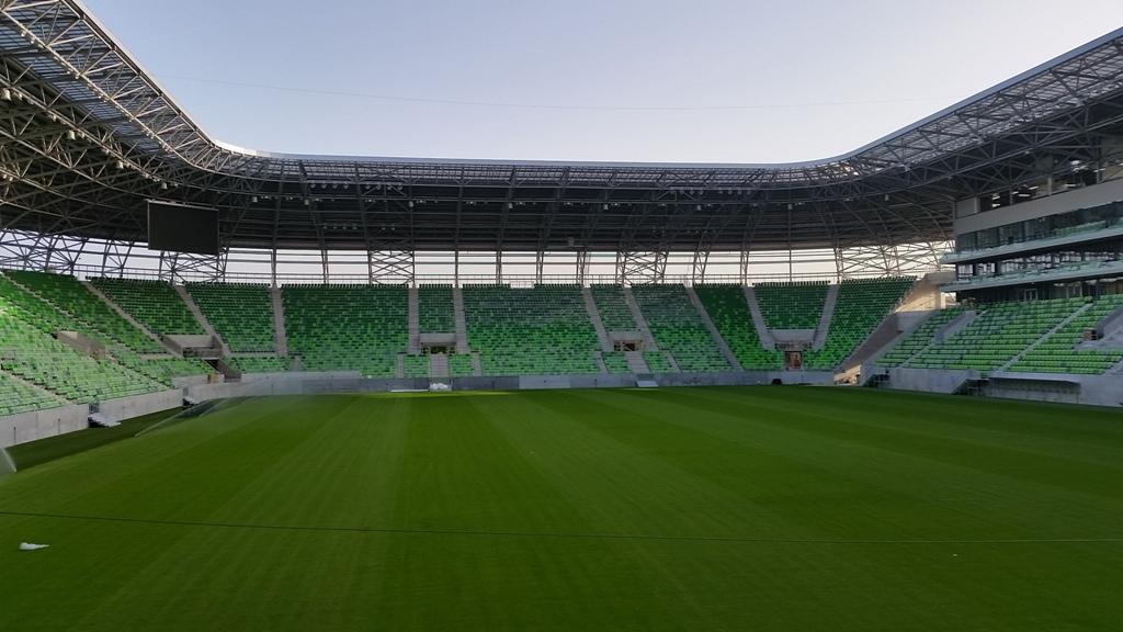 Austria Email tárolók és napkollektorok az új FTC Stadionban ... 778729db02